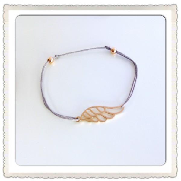 bracelet-cordon-aile-or-rose